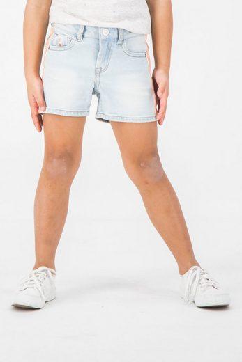 Garcia Shorts mit bunten Streifen