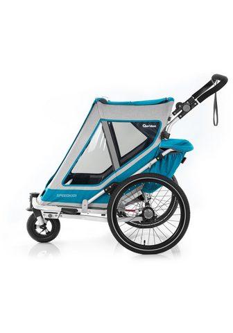 Qeridoo Fahrradkinderanhänger »SPEEDKID 1«