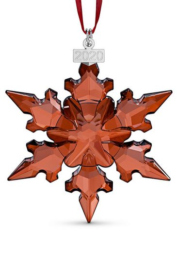 Swarovski Dekofigur »Festtagsornament, mittel, Jahresausgabe 2020, 5527742« (1 Stück), Swarovski® Kristall