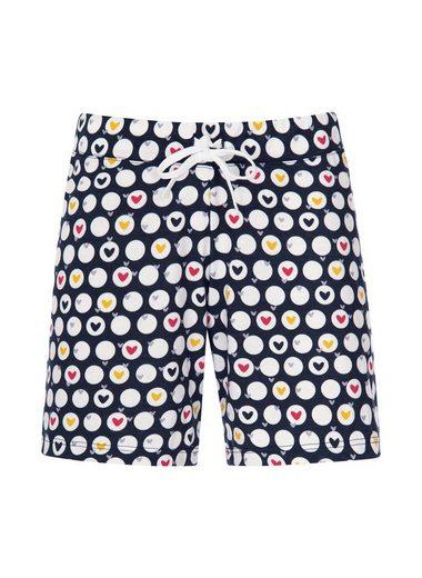 Trigema Shorts mit angesagtem Muster