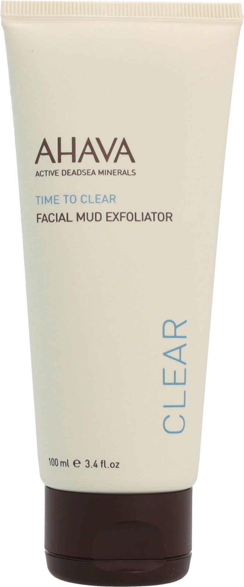 AHAVA Gesichts-Reinigungsschaum »Time To Clear Facial Mud Exfoliator«