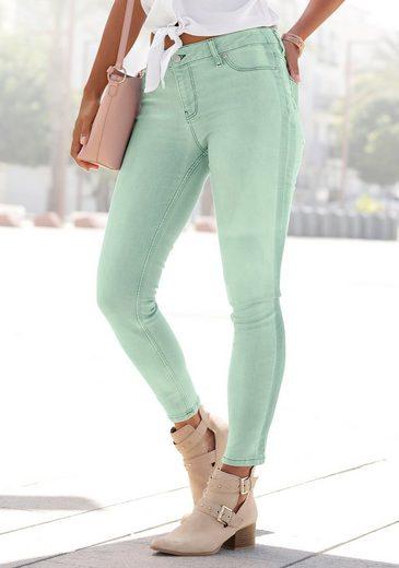Buffalo Skinny-fit-Jeans mit seitlichem Streifen