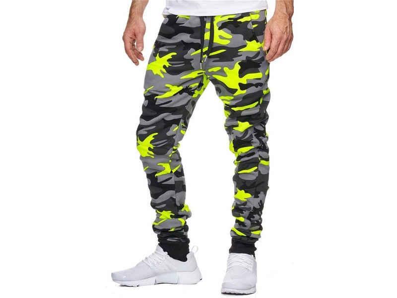 OneRedox Jogginghose »794C« (Sporthose Trainingshose Sweatpants, 1-tlg., im modischem Design) Fitness Freizeit Casual