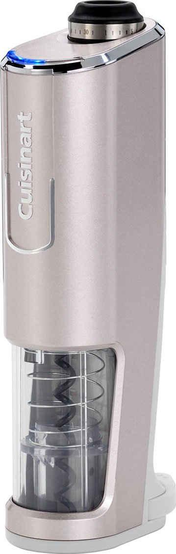 Cuisinart Weinflaschenöffner »RWO100E«, mit Sensor zu Erkennung des Korken, Folienschneider, Aufsatz zum Dekantieren und Vakuumverschluss, öffnet pro Ladung 50 Weinflaschen, für synthetische und natürliche Korken