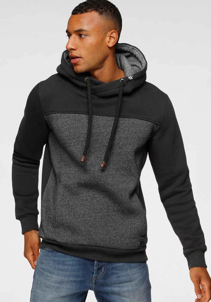 Cipo & Baxx Kapuzensweatshirt Color Blocking