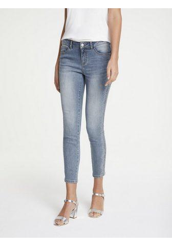 LINEA TESINI by Heine Skinny-fit-Jeans su Schmucksteinchen