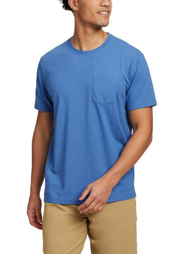 Eddie Bauer T-Shirt Legend Wash Pro - Kurzarm mit Tasche