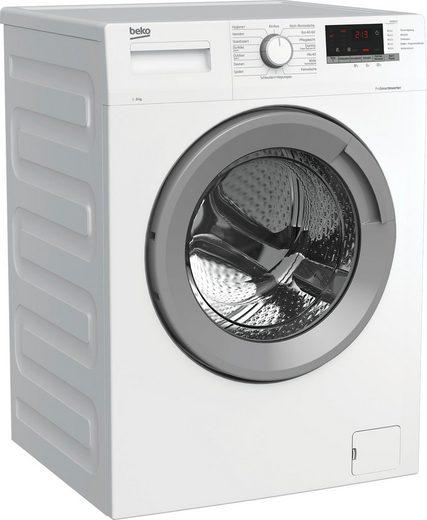 BEKO Waschmaschine WMO8221, 8 kg, 1400 U/min