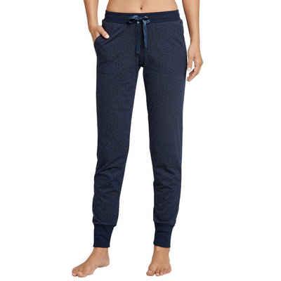 Schiesser Schlafhose »Mix & Relax« Schlafanzug Jersey Hose lang - Mit Seitentaschen und Bündchen, Angenehm auf der Haut, Schlafanzüge zum selber mixen
