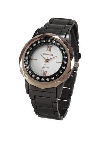 Armbanduhr mit Schmucksteinchen