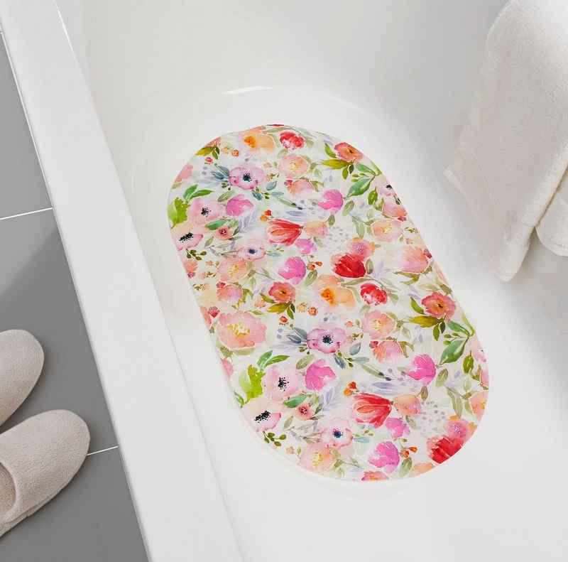 Badematte dynamic24, rutschhemmend, Badewannenmatte rutschfest Badezimmer Duschmatte Bad Einlage Matte