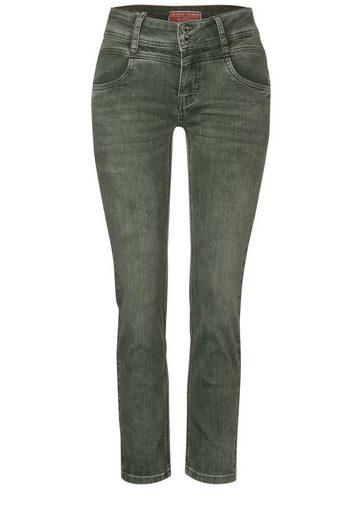STREET ONE Slim-fit-Jeans in 7/8-Länge