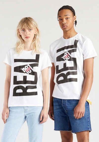 Levi's® T-Shirt »501 DAY TEE - Unisex« mit Frontprint