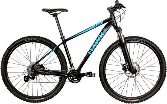"""HAWK Bikes Mountainbike »HAWK Trail One 29""""«, 18 Gang Shimano Alivio Schaltwerk, Kettenschaltung"""