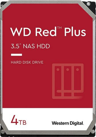 Western Digital »WD Red™ Plus« HDD-NAS-Festplatte 35