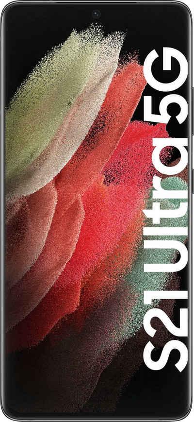Samsung Galaxy S21 Ultra 5G Smartphone (17,3 cm/6,8 Zoll, 512 GB Speicherplatz, 108 MP Kamera, 3 Jahre Garantie)