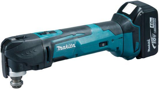 MAKITA Akku-Multifunktionswerkzeug »DTM51RT1J3 / DTM51Y1JX8 / DTM51Z«, 18 V