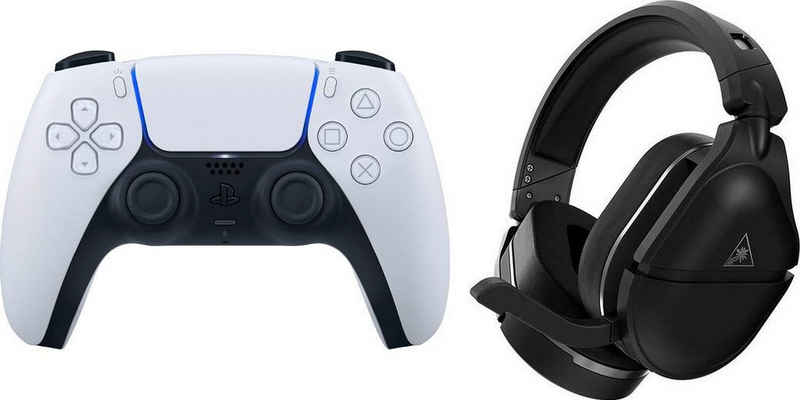 Turtle Beach »Stealth 700 Gen 2 Headset - PlayStation®« Gaming-Headset (Active Noise Cancelling (ANC), Bluetooth, inkl. DualSense Wireless-Controller)