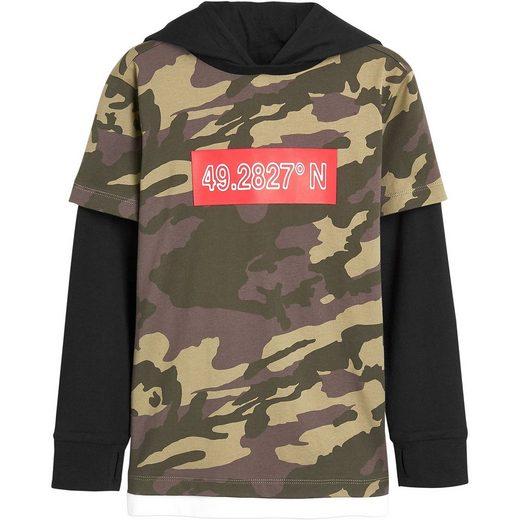 Next Langarmshirt mit Kapuzen für Jungen