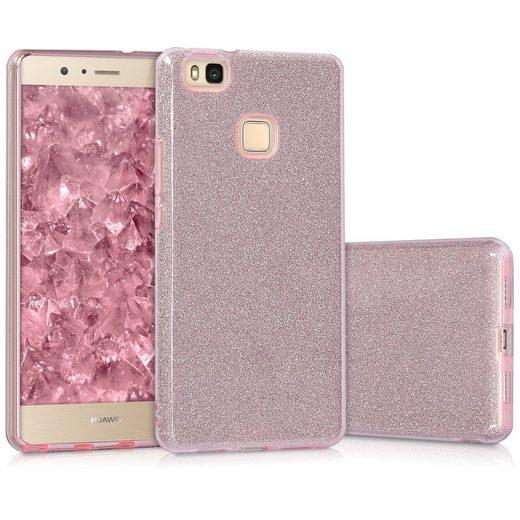 kwmobile Handyhülle, Hülle für Huawei P9 Lite - Handy Cover Case Schutzhülle im Glitzer Uni Design