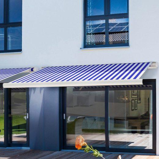 HOME DELUXE Kassettenmarkise »LED Elos V2«, Breite/Ausfall: 350x250 cm, mit LED und Fernbedienung