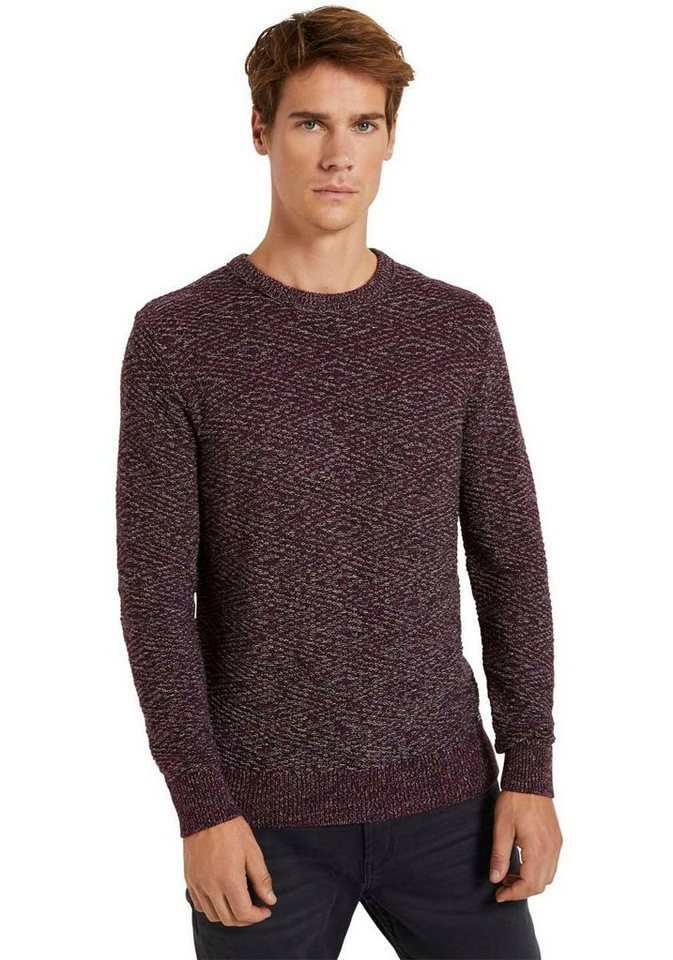 tom tailor -  Strickpullover in toller Strukturoptik