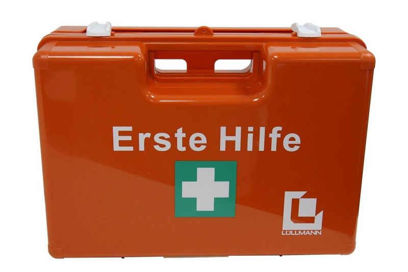 Steelboxx Arzttasche »Erste Hilfe Koffer L mit Füllung DIN 13 157, SPEZI« (1-tlg), mit Verbandstofffüllung nach DIN 13 157 + Branchenspezifische Füllung: WOHNHEIM/UNTERKÃœNFTE