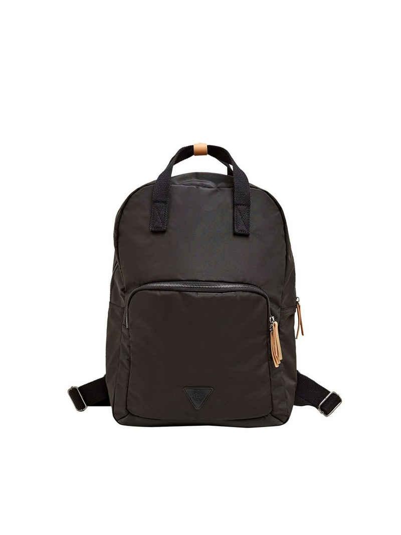 Esprit Schultertasche »Rucksack aus strukturiertem Nylon«