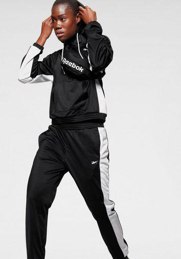 Reebok Trainingsanzug »Linear Logo Hoodie« (Set, 2-tlg)