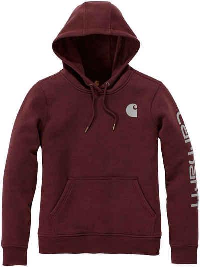 Carhartt Kapuzensweatshirt »CLARKSBURG« mit dreiteiliger Kapuze
