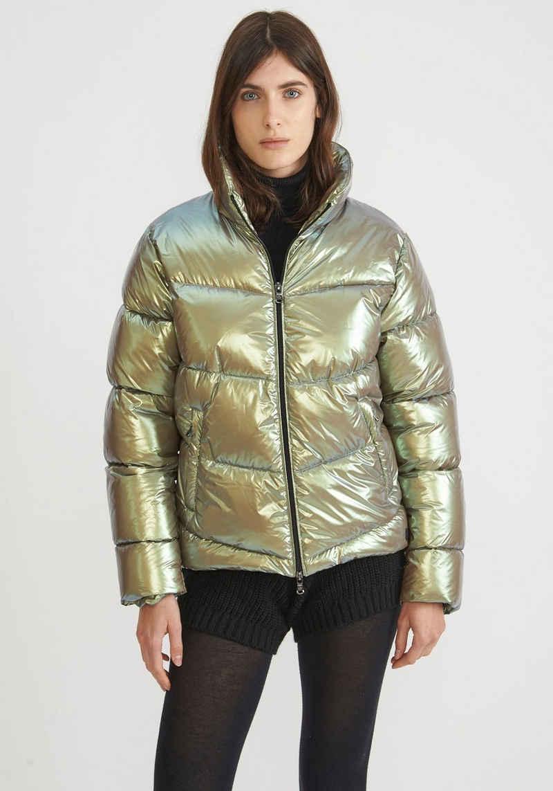 Canadian Classics Steppjacke »Mauricie recycled glamour« Oberstoff in glänzender Optik