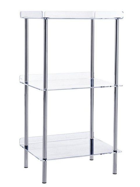 Küchenregale - Regal mit transparenten Ablagen  - Onlineshop OTTO