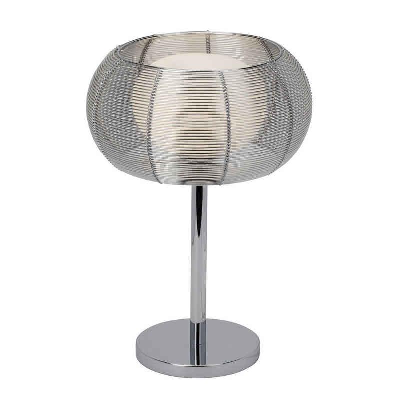 Brilliant Leuchten Tischleuchte »Relax«, Tischlampe chrom
