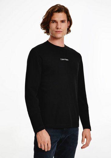 Calvin Klein Longsleeve »WAFFLE LONG SLEEVE T-SHIRT«
