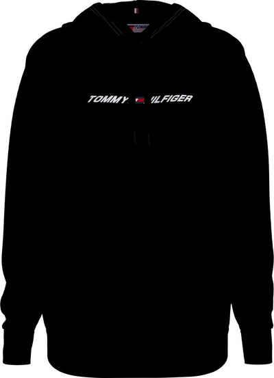 Tommy Hilfiger Sport Kapuzensweatshirt »RELAXED GRAPHIC HOODIE LS« mit Tommy Hilfiger Logo-Schriftzug & Flag