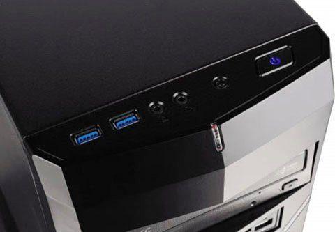 CAPTIVA G7AG 19V2 Gaming-PC (AMD Ryzen 5 3400G, GTX 1650, 16 GB RAM, 1000 GB HDD, 480 GB SSD, Luftkühlung)