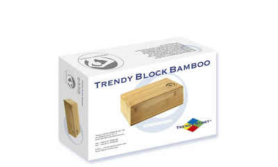 Trendy Sport Yogablock »Bambus Fitnessblock Yogahilfe Zubehör Holzblock«