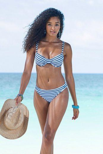 Venice Beach Bikini-Hose »Summer«, mit Umschlagbund