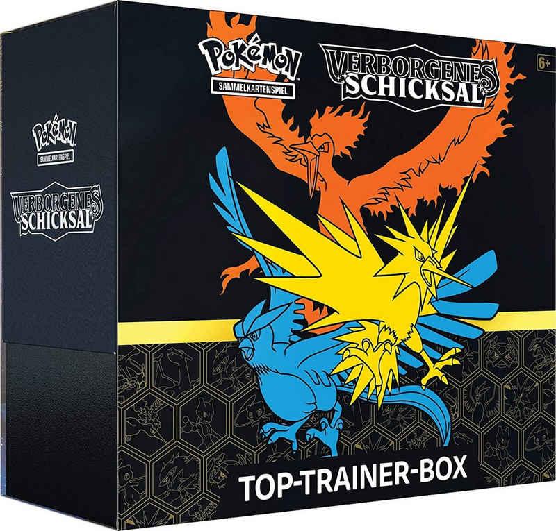 POKÉMON Sammelkarte »Pokémon Verborgenes Schicksal - Top-Trainer-Box«, Sonstiges