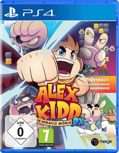 Alex Kidd in Miracle World DX PlayStation 4