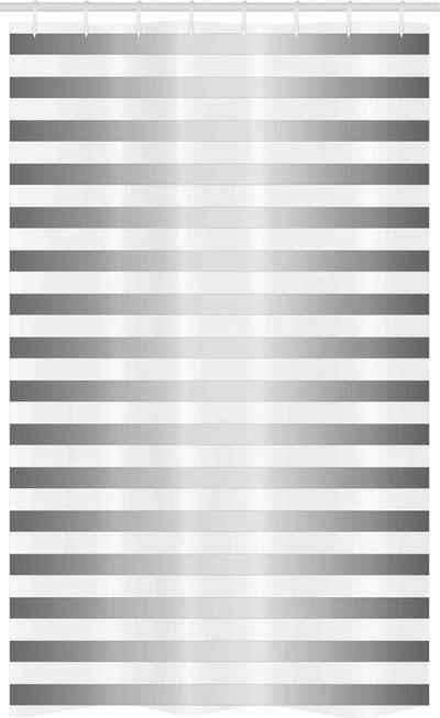 Abakuhaus Duschvorhang »Badezimmer Deko Set aus Stoff mit Haken« Breite 120 cm, Höhe 180 cm, Modern Horizontale Zebrastreifen