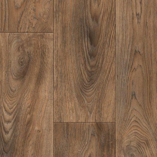 Andiamo Vinylboden »Tas«, Breite 200 cm, Meterware, Holzdielennachbildung, mittelbraun