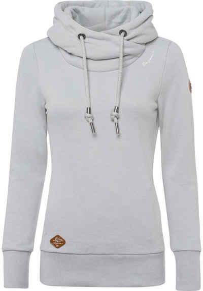 Ragwear Sweater »GRIPY BOLD« mit hochschießendem Schalkragen