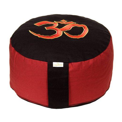 yogabox Yogakissen »Glückssitz mit OM-Symbol«