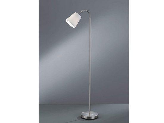 TRIO LED Stehlampe, schöne große Steh-Leuchte flexibel höhenverstellbar modern ausgefallen Lese-Lampe neben Sofa