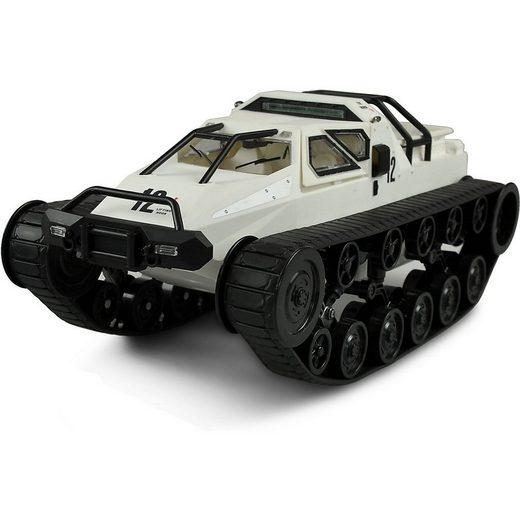Amewi Spielzeug-Auto »Ketten-Drift-Fahrzeug 1:12 grau/blau RTR«
