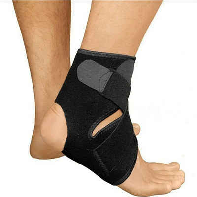 Masbekte Fußbandage, Sprunggelenk Training Verband, Knöchel Stütze Waden Fussgelenkbandage