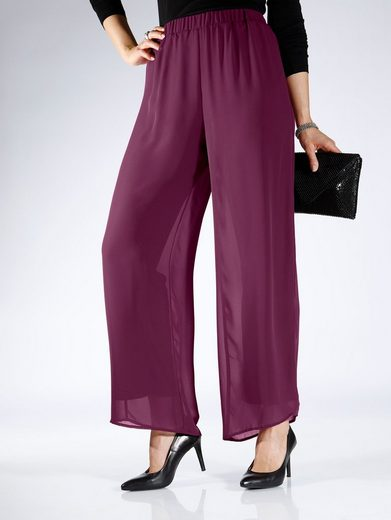 m. collection Chiffonhose in lässiger Form