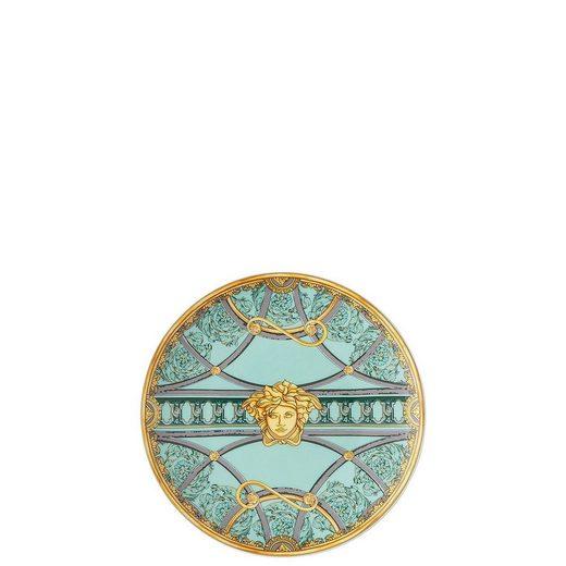 Rosenthal meets Versace Brotteller »Versace Scala Palazzo Verde Brotteller 17 cm«, (1 Stück)