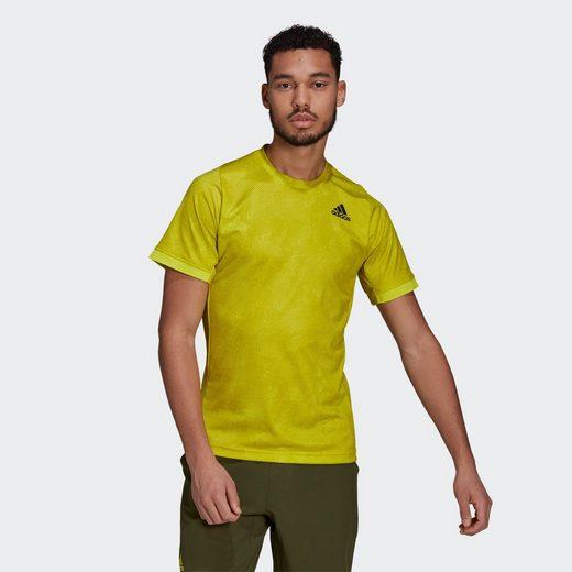 adidas Performance T-Shirt »Tennis Freelift Printed Primeblue T-Shirt«